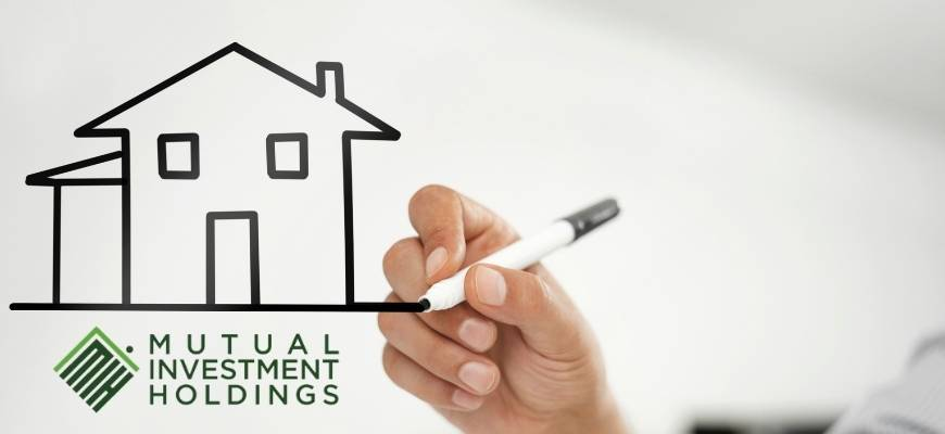 Image of Home being Drawn, Learn the Value of your Mortgage Note