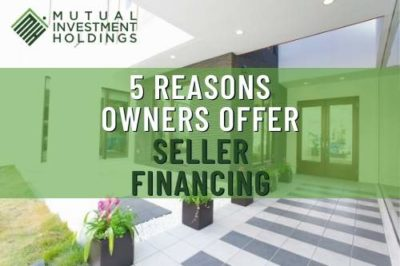 5 Reasons to Offer Seller Financing