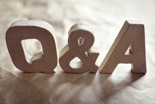 Q & A Images, Seller Financing Questions