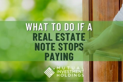 """Photo of Door Opening: """"What to Do if a Real Estate Note Stops Paying"""""""